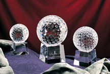 Optic Crystal Golf Awards